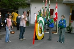 Fahnenweihe 2006